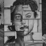 Charcoal Painting by Artist