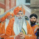 painting-on-sikhism at fineart institute